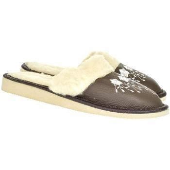 Topánky Ženy Papuče John-C Dámske sivé papuče MATILDA tmavosivá