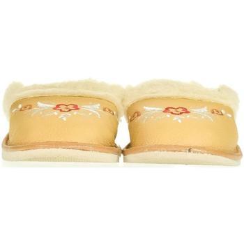 Topánky Ženy Papuče John-C Dámske béžové papuče SILVANA béžová