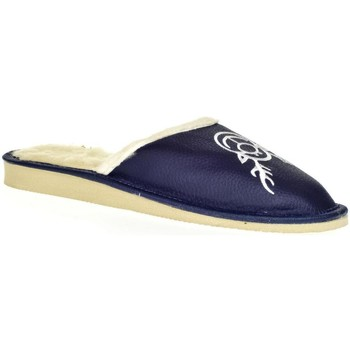 Topánky Ženy Papuče John-C Dámske modré papuče JELENÍK tmavomodrá
