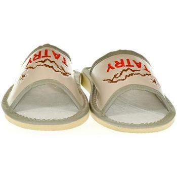 Topánky Ženy Šľapky John-C Dámske sivé papuče TATRY sivá