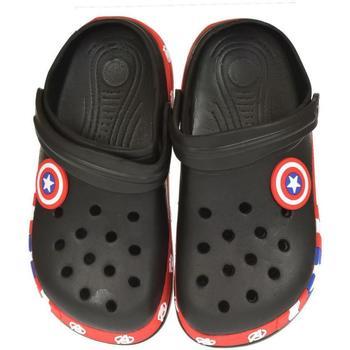 Topánky Deti Nazuvky Bbg Detské čierne crocsy STAR čierna