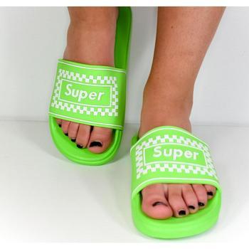 Topánky Ženy športové šľapky Seastar Dámske zelené šľapky SUPER ružová