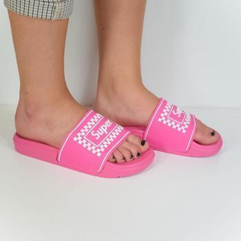 Topánky Ženy športové šľapky Seastar Dámske ružové šľapky SUPER ružová