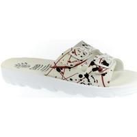 Topánky Ženy Šľapky Mjartan Dámske šľapky  DARLYN 13 biela