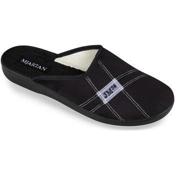 Topánky Muži Papuče Mjartan Pánske papuče  FILIP 6 čierna