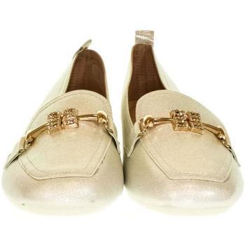 Topánky Ženy Mokasíny Pur Dámske biele poltopánky PURLINA TRIS biela