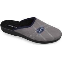 Topánky Muži Papuče Mjartan Pánske papuče  FILIP 3 tmavosivá