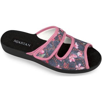 Topánky Ženy Papuče Mjartan Dámske papuče  MARINA čierna