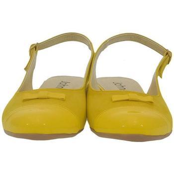 Topánky Ženy Sandále John-C Dámske žlté sandále EVELINE žltá