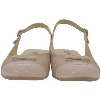 Topánky Ženy Sandále John-C Dámske svetlo-ružové sandále EVELINE ružová