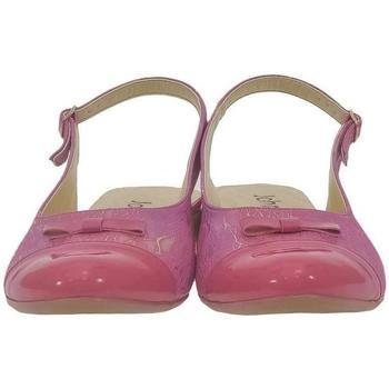 Topánky Ženy Sandále John-C Dámske tmavo-ružové sandále EVELINE ružová