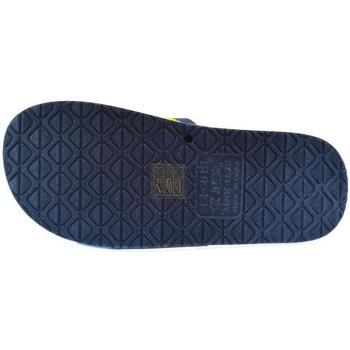 Topánky Deti športové šľapky John-C Detské tmavo-modré šľapky CATI tmavomodrá