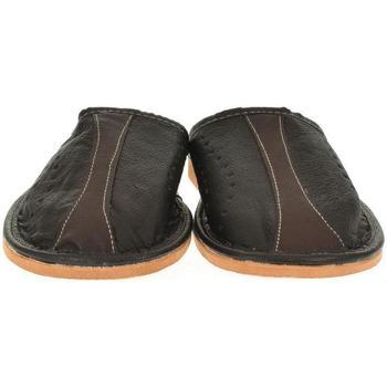 Topánky Muži Papuče John-C Pánske čierne papuče ONIS čierna