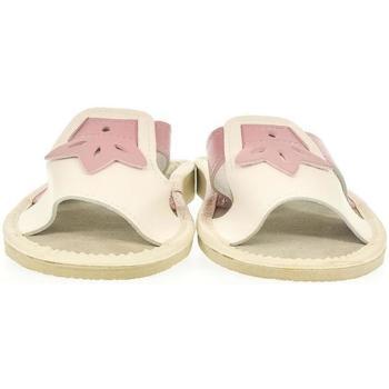Topánky Ženy Šľapky John-C Dámske béžové papuče TRIN béžová