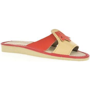 Topánky Ženy Šľapky John-C Dámske oranžové papuče TRIN oranžová