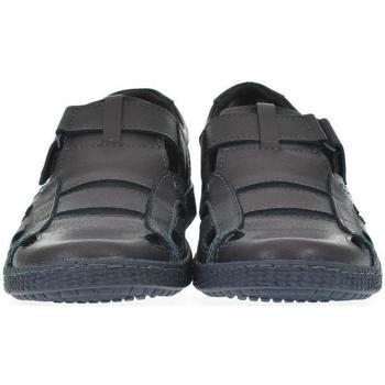 Topánky Muži Sandále Krezus Pánske modré poltopánky SOMETI tmavomodrá