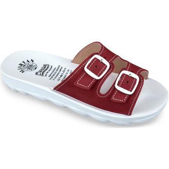 Topánky Ženy Šľapky Mjartan Dámske šľapky  DARLYN 4 červená