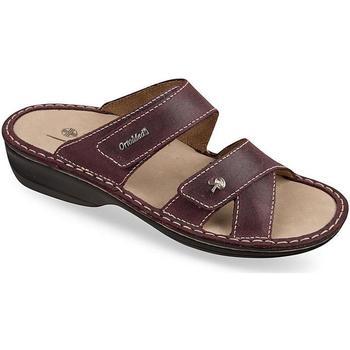 Topánky Ženy Sandále Mjartan Dámske šľapky  KATA 2 bordová