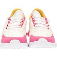 Topánky Ženy Nízke tenisky Yes Smile Dámske bielo-ružové tenisky LONAI biela