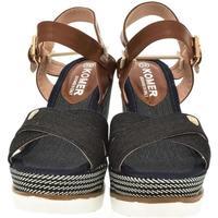 Topánky Ženy Sandále Comer Dámske čierne sandále NIMI čierna