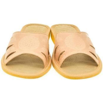Topánky Ženy Šľapky John-C Dámske béžové papuče OLA béžová