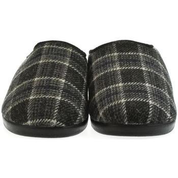 Topánky Muži Papuče Mjartan Pánske papuče  MIKI 2 tmavosivá