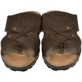 Topánky Muži Šľapky Mjartan Pánske papuče  ENRIQUE hnedá