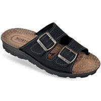 Topánky Muži Šľapky Mjartan Pánske papuče  ENUTAN čierna