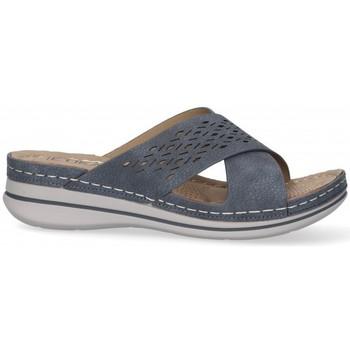 Topánky Ženy Šľapky Etika 52659 Modrá