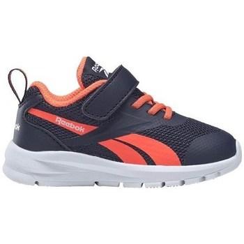 Topánky Deti Bežecká a trailová obuv Reebok Sport Rush Runner Čierna, Oranžová
