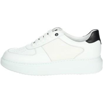 Topánky Muži Členkové tenisky Exton 956 White