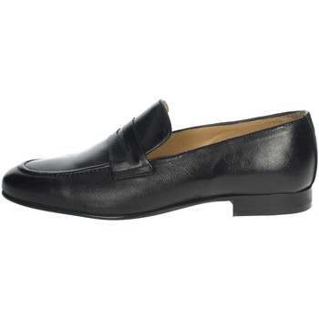 Topánky Muži Mokasíny Exton 1025 Black