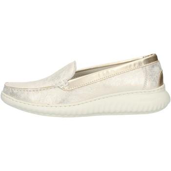 Topánky Ženy Mokasíny Notton 3117 Platinum