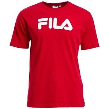 Oblečenie Tričká s krátkym rukávom Fila Classic Pure Červená