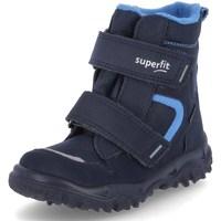 Topánky Chlapci Snehule  Superfit Husky 1 Modrá
