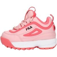 Topánky Dievčatá Nízke tenisky Fila 1010826 Pink