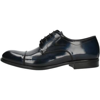 Topánky Muži Derbie Exton 1395 Blue