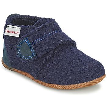 Topánky Chlapci Papuče Giesswein OBERSTAUFEN Modrá