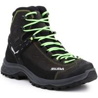 Topánky Muži Turistická obuv Salewa MS Hike Trainer Mid GTX 61336-0972 black