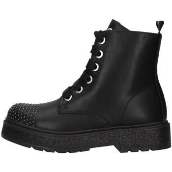 Topánky Dievčatá Polokozačky Café Noir C-800 BLACK