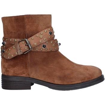 Topánky Ženy Čižmičky Zoe 0050 BROWN