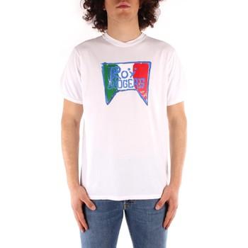 Oblečenie Muži Tričká s krátkym rukávom Roy Rogers P21RRU513C7480013 WHITE