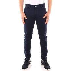 Oblečenie Muži Oblekové nohavice Roy Rogers P21RRU089P3180112 NAVY BLUE