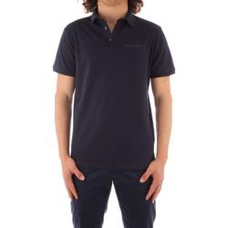 Oblečenie Muži Polokošele s krátkym rukávom Trussardi 52T00488 1T003603 NAVY BLUE