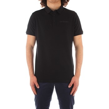 Oblečenie Muži Polokošele s krátkym rukávom Trussardi 52T00488 1T003603 BLACK