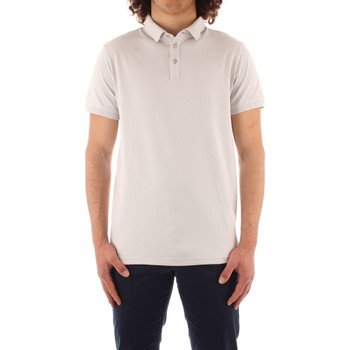 Oblečenie Muži Polokošele s krátkym rukávom Trussardi 52T00488 1T003603 WHITE