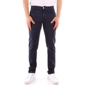Oblečenie Muži Nohavice Chinos a Carrot Trussardi 52J00007 1T005015 NAVY BLUE