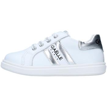 Topánky Dievčatá Nízke tenisky GaËlle Paris G-741 WHITE