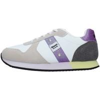 Topánky Dievčatá Nízke tenisky Blauer S1LILLI02/LES WHITE