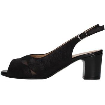 Topánky Ženy Sandále Melluso S630 BLACK